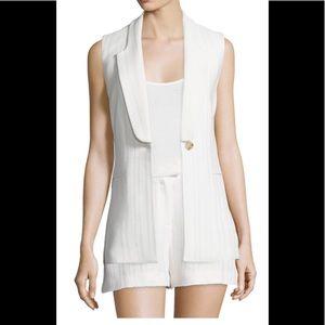 ❌SOLD❌ Veronica beard 2 piece vest & short
